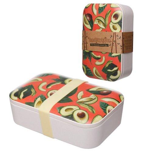 Bambootique Bamboe Lunchbox in diverse kleuren en designs