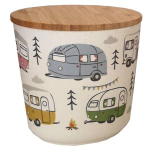 Bambootique Bamboo Round Pot - Small