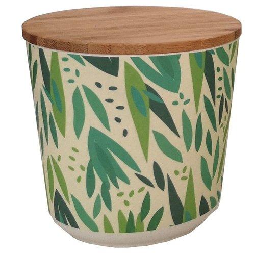 Bambootique Ronde voorraad pot van Bamboe - Small