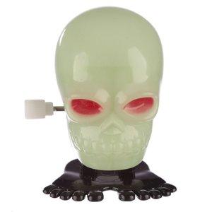 Novus Fumus Glow in the Dark Wind-up Skull
