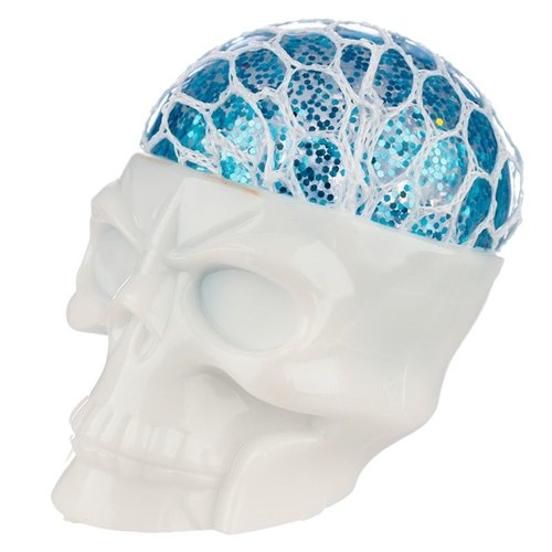 Novus Fumus Squishy Squeezable Skull Head