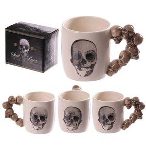 Novus Fumus Halloween Skull Mug