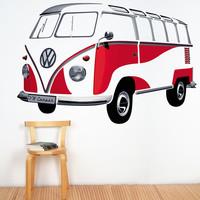 VW-T1 Samba Muurtattoo