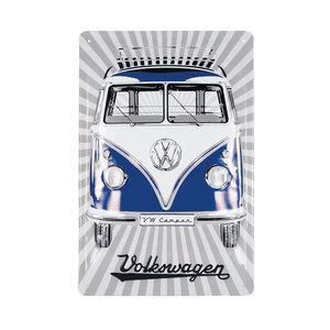 Volkswagen Metallschilder - VW Samba