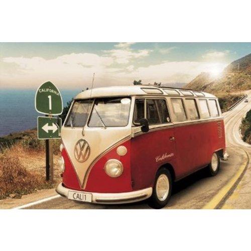Volkswagen Volkswagen Samba T1 Poster - 91,5 x 61 cm