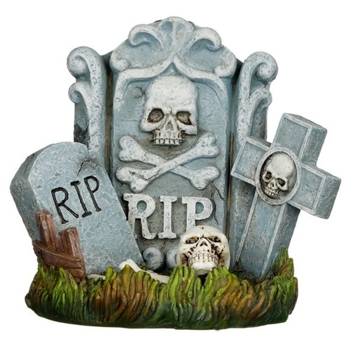 Novus Fumus Halloween R.I.P.  grafsteen wierookhouder