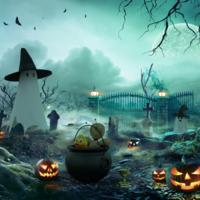 Halloween 2020: Een zeldzame blauwe volle maan