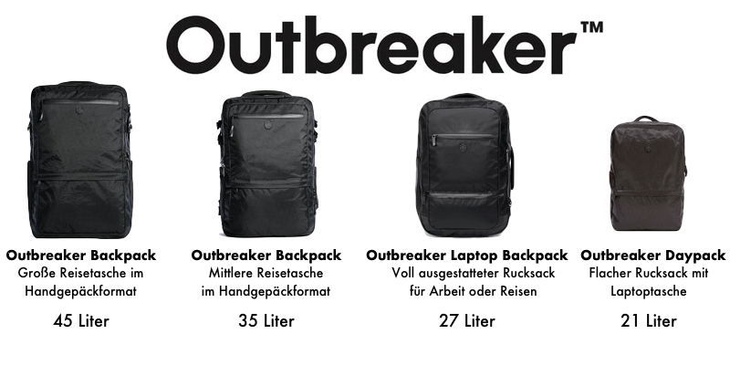 Tortuga Outbreaker Rugzakken en Reistassen