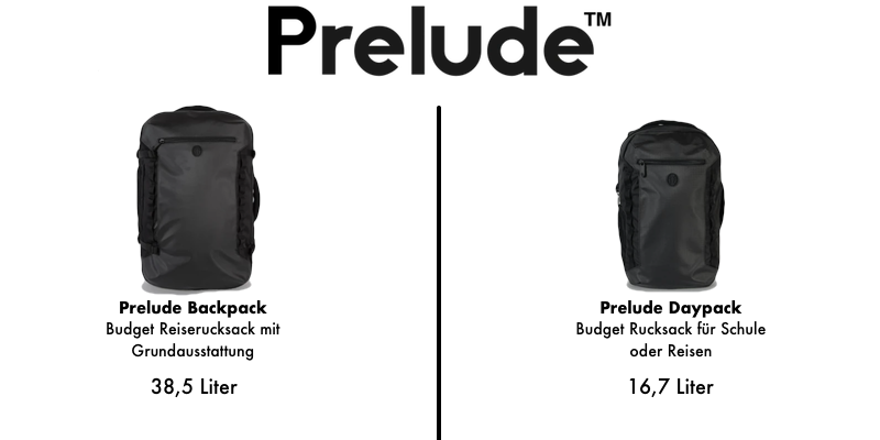 Tortuga Prelude backpacks
