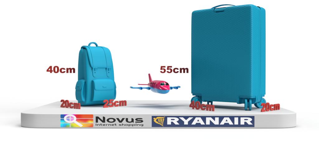 Ryanair cabin baggage dimensions