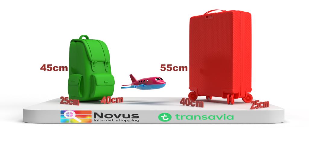 transavia cabin baggage dimensions