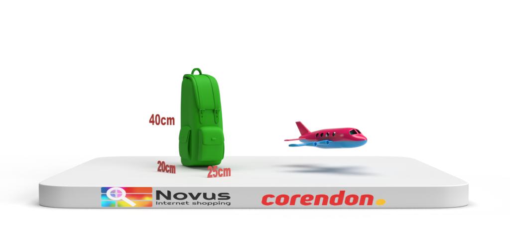 Corendon cabin baggage dimensions