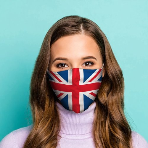 Novus Fumus Mouth mask - Country flags - Cotton