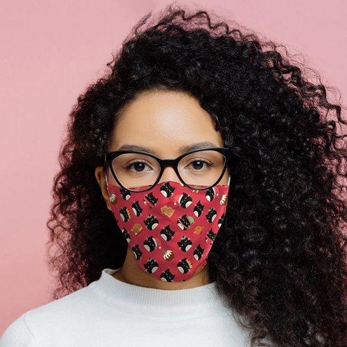 Novus Fumus Face masks Christmas - Cotton - Large
