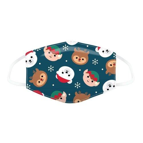 Novus Fumus Mondkapjes van katoen. Speciaal voor kerstmis