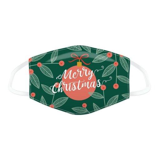 Novus Fumus Mondkapjes Kerstmis - Katoen - Large