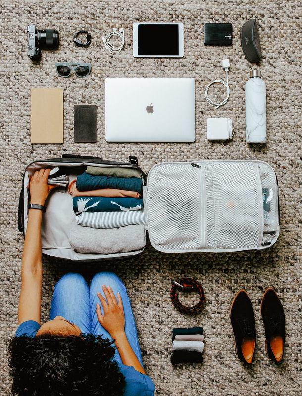 Wat kun je meenemen in een Tortuga Outbreaker laptop tas