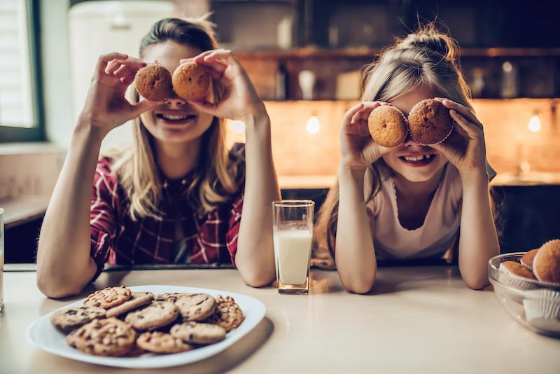 samen koekjes bakken