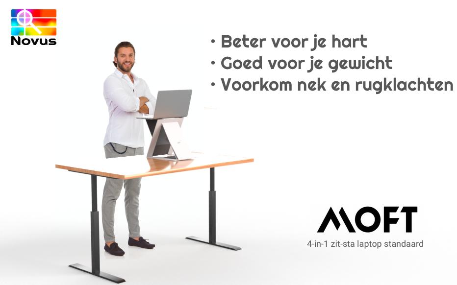 Voordelen van zittend - staand werken