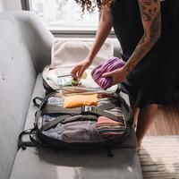 Reistas en koffer inpakken zodat kleding niet kreukt