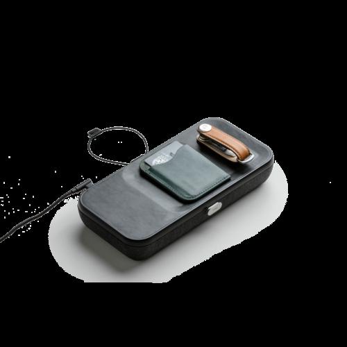 Orbitkey Orbitkey Nest   Draagbare Bureau Organizer met draadloze oplader voor telefoon en oordopjes