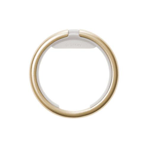 Orbitkey Keychain ring - Yellow Gold