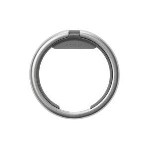 Orbitkey Sleutelhanger ring - Silver / Charcoal