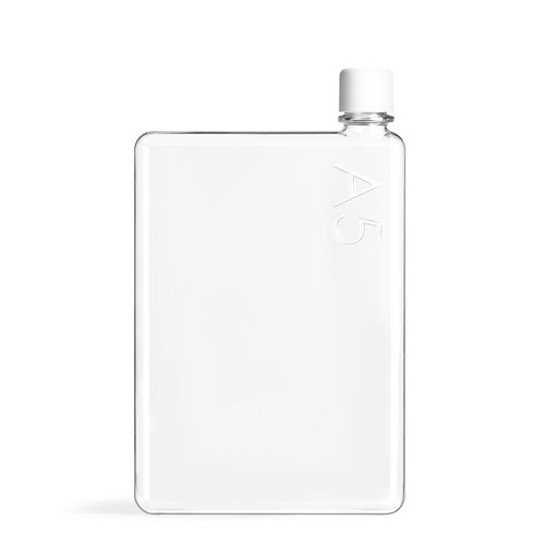 Memobottle Memobottle A5 - Drinkfles in A5 formaat - BPA Vrij