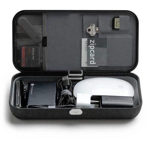 Orbitkey Orbitkey Nest | Draagbare Bureau Organizer met draadloze oplader voor telefoon en oordopjes