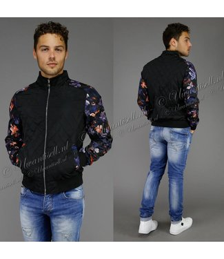 Trendy Jacket met Bloemenprint
