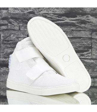!SALE Trendy Hoge Dotted Sneakers Off White