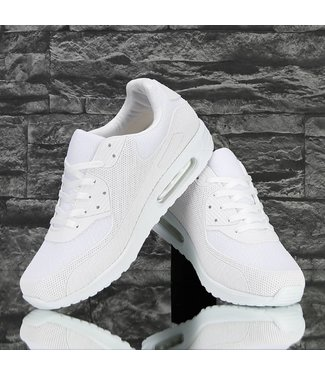 !SALE Trendy Multi-Patroon Sneakers Off White