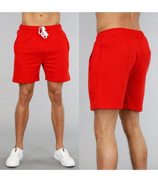 !OP=OP Sportieve Rode Korte Heren Broek