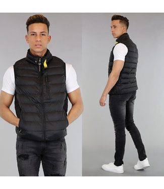NEW! Casual Zwarte Bodywarmer
