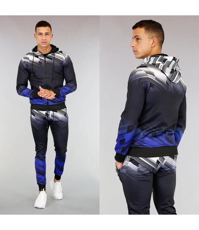 Meerkleurig Streetwear Trainingspak met Patroon