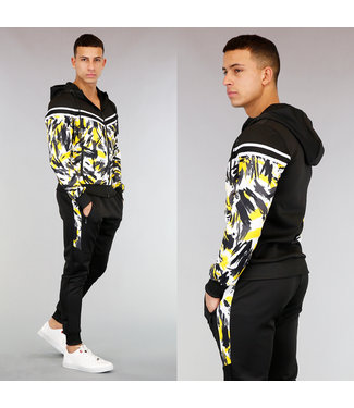 !OP=OP Heren Streetwear Trainingspak met Camouflageprint