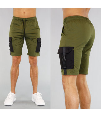 !OP=OP Groene Heren Jogger Short