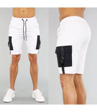 !OP=OP Witte Heren Jogger Short