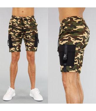 !OP=OP Camouflage Heren Jogger Short