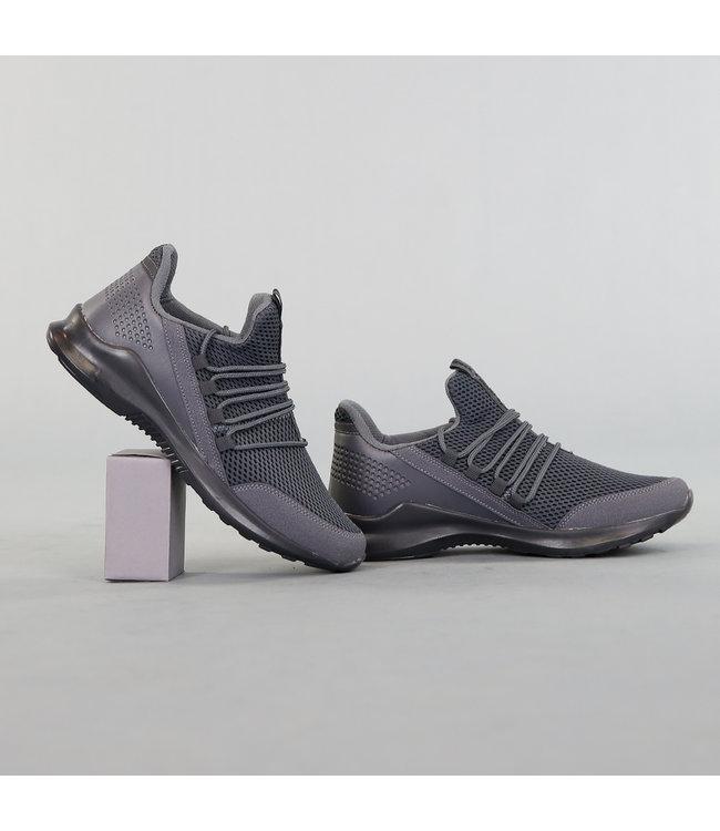 !OP=OP Grijze Heren Lichtgewicht Sneakers
