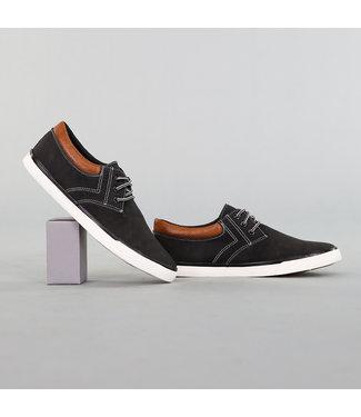 NEW! Nette Lage Heren Schoenen Zwart