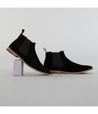 Hoge Heren Suèdelook  Schoenen Zwart