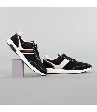 Zwarte Sportieve Heren Schoenen