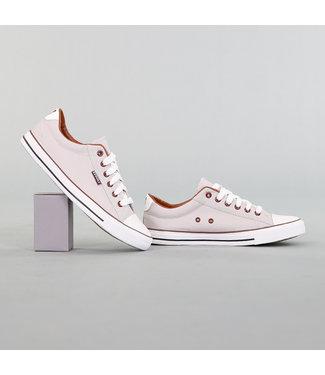 NEW! Heren Grijze Canvas Sneakers