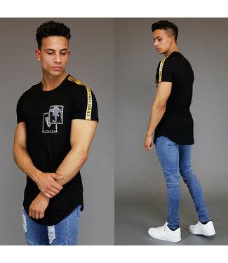 Zwart Heren Shirt met Studs