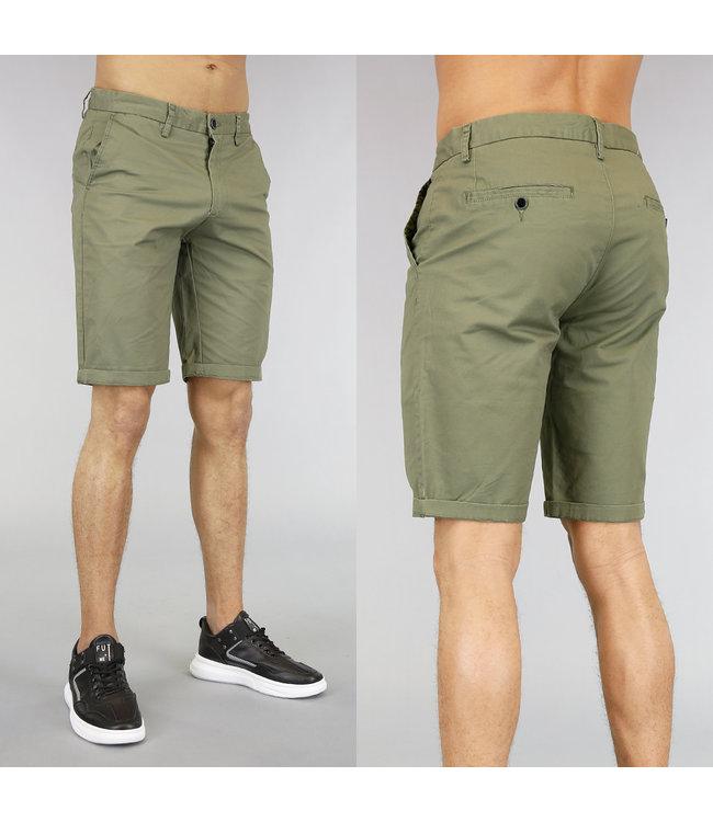 NEW! Korte Groene Heren Pantalon