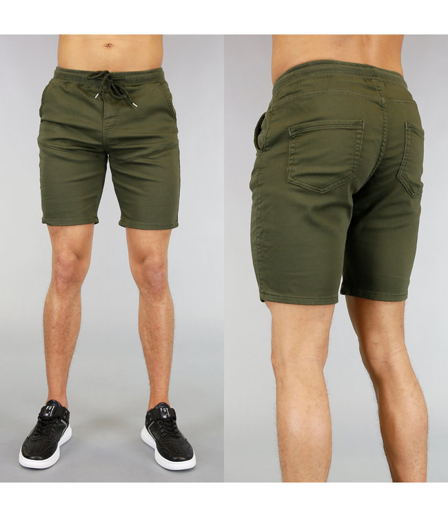 NEW! Basic Khaki Heren Jogger