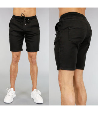 Basic Zwarte Heren Jogger