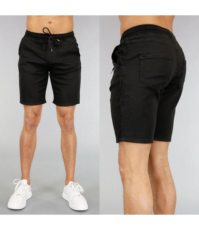 Basic Zwarte Heren Jogger