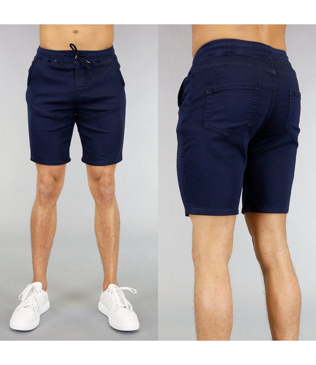 NEW! Basic Navy Heren Jogger